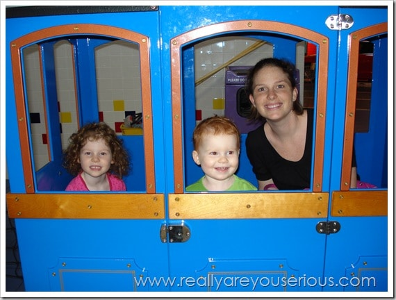 Mommy and Me Monday: On the Train