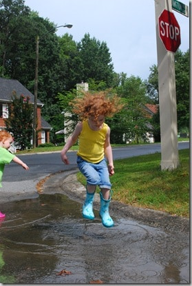 Puddle Jump captured