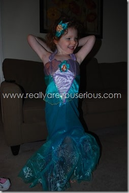 The Little Mermaid- Serious Style