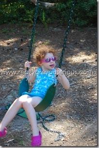 she swings