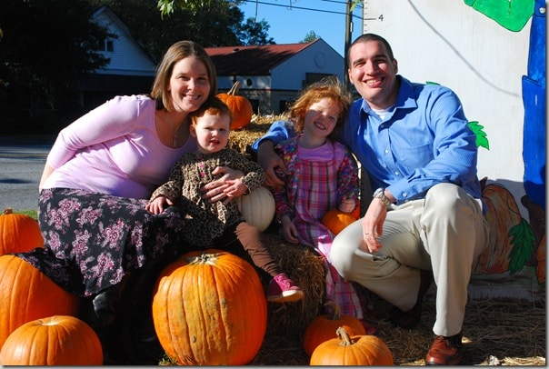 Mommy and Me Monday- The Pumpkin Patch