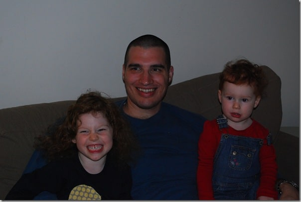 Daddy and the girls