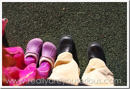 Mommy And Me Monday: Feet