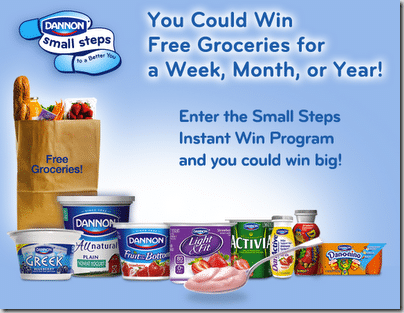 Dannon Small Steps Sweepstakes