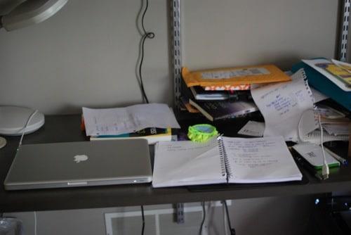 My desk..before