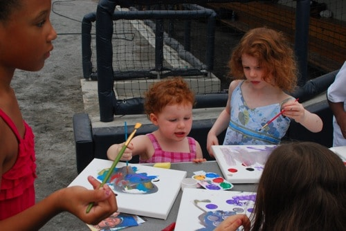 crafts with the gwinnett braves