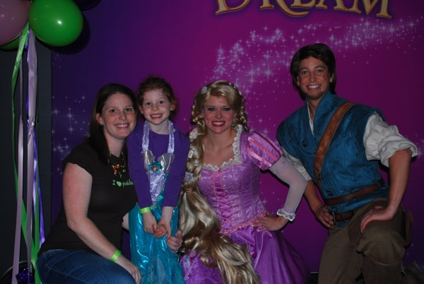 With the Disney on Ice cast