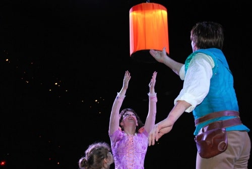 lighting the lantern