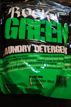 Rockin' Green Laundry Detergent Review and Giveaway