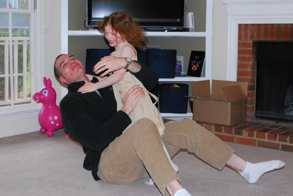 tackling daddy