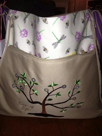 Pink Lining Bag