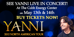 Yanni Tickets in Atlanta
