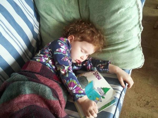 #2 sleeps