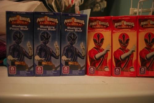 Genesis Power Rangers Fruit Juice Box Review