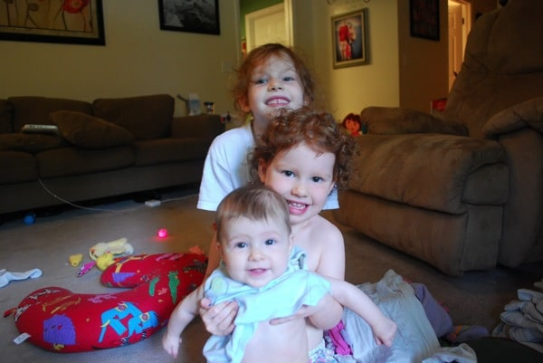 three for three