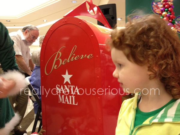 letter mailing to Santa