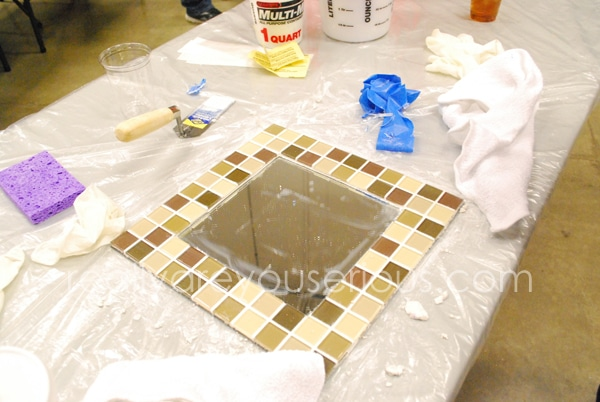 DIH Workshop Mosaic Mirror