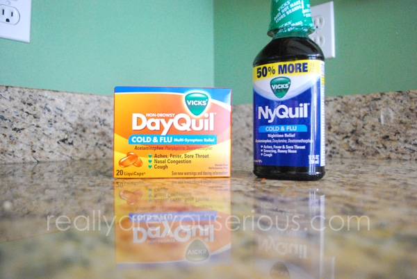 DayQuil and NyQuil