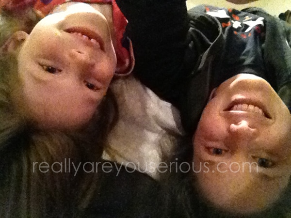 Upside Down Mommy and Me Monday