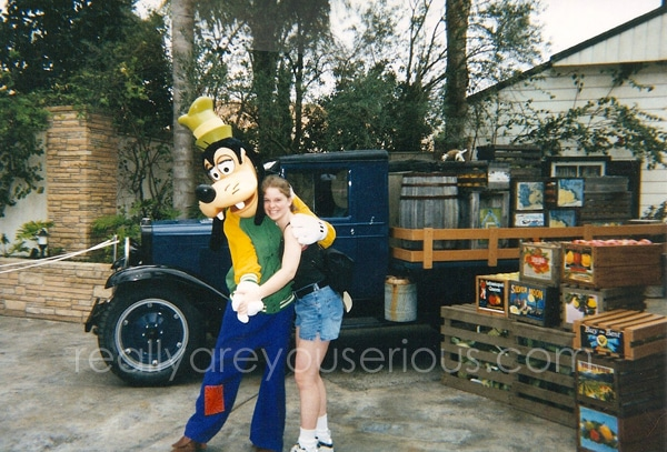 Disney with goofy 1998