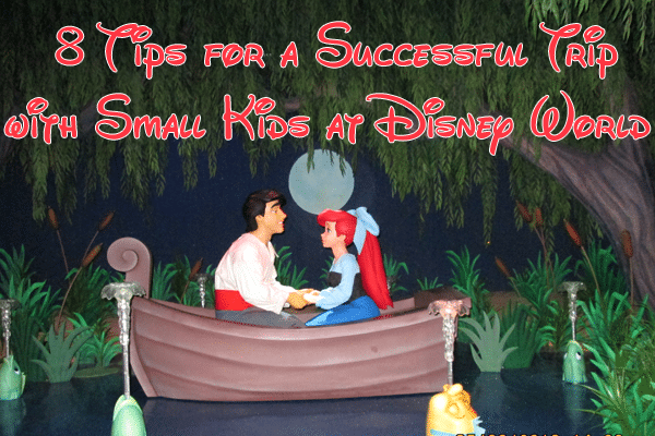 8 tips for a successful trip with small kids at disney