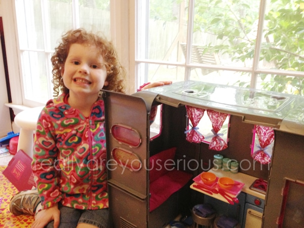 Our generation doll RV review