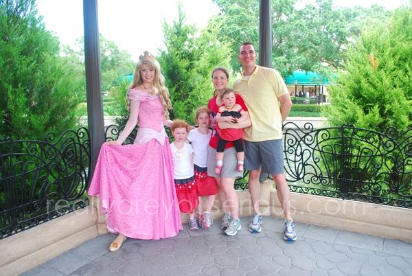 Princesses at Disney