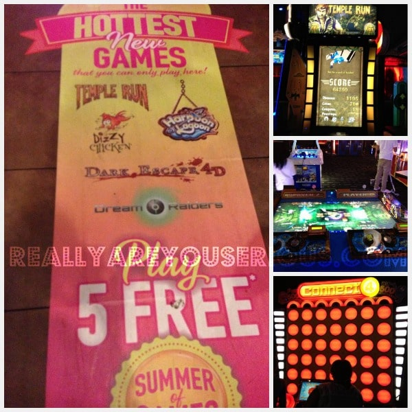 Dave and Buster's Summer of Games