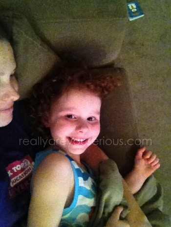 Mommy and Me Monday | Cinderella snuggles