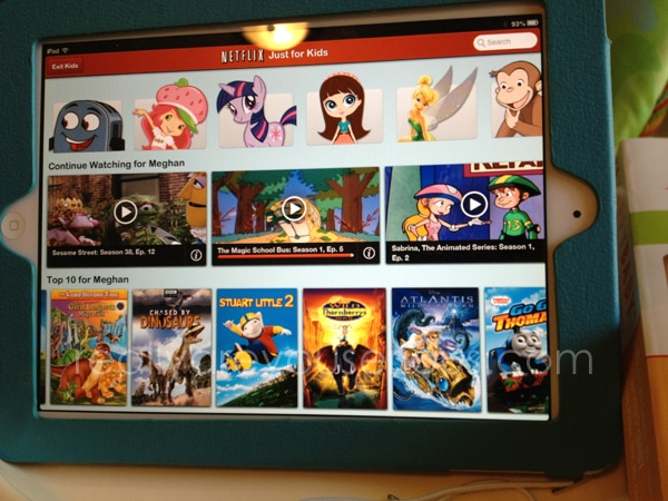 #NetflixFamilies review | on iPad