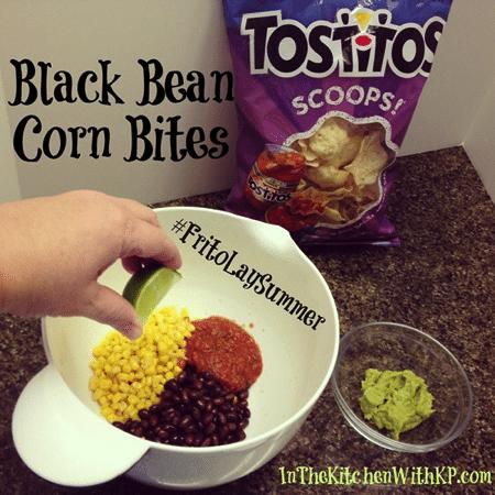 Black Bean Corn Bites