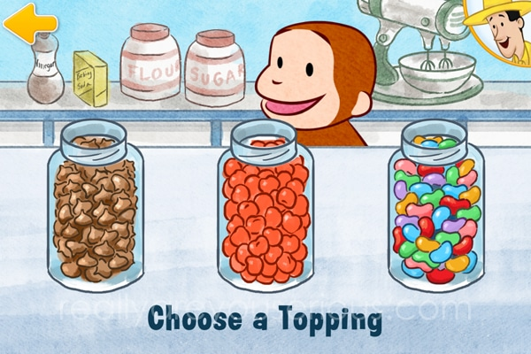 Curious George's Town App Review + Giveaway