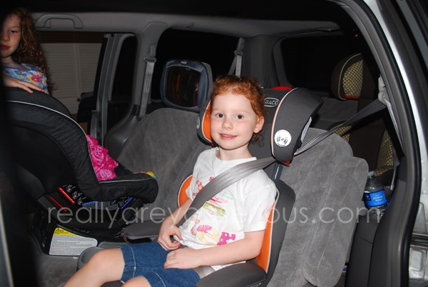 Growing up | AFFIX Highback Booster with Latch review