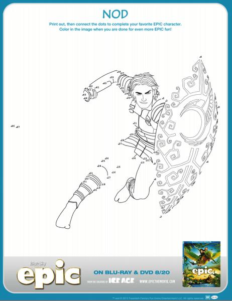 epic coloring sheet