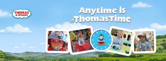 Anytime is #ThomasTime