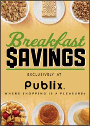 Publix Breakfast Savings