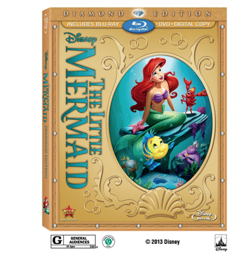 The Little Mermaid Blu-Ray + DVD giveaway