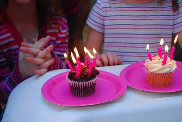 Birthday party for a 7 and 5 year old at home