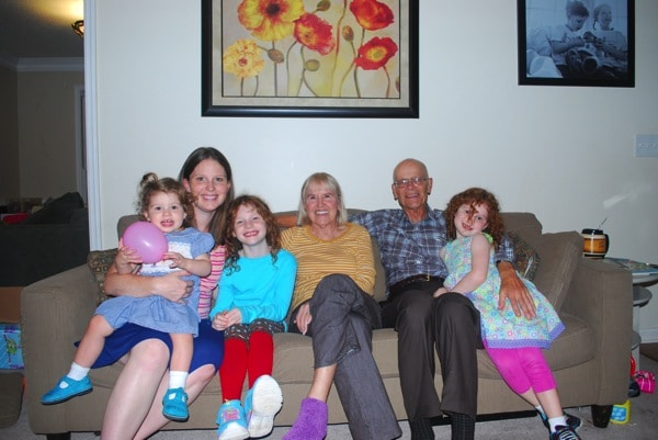 Mommy and Me Monday + Great Grandparents