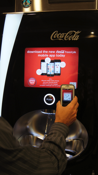 Coca Cola Freestyle App