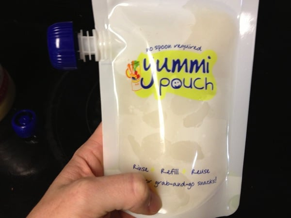 How to refill a reusable food pouch | Yummi Pouch