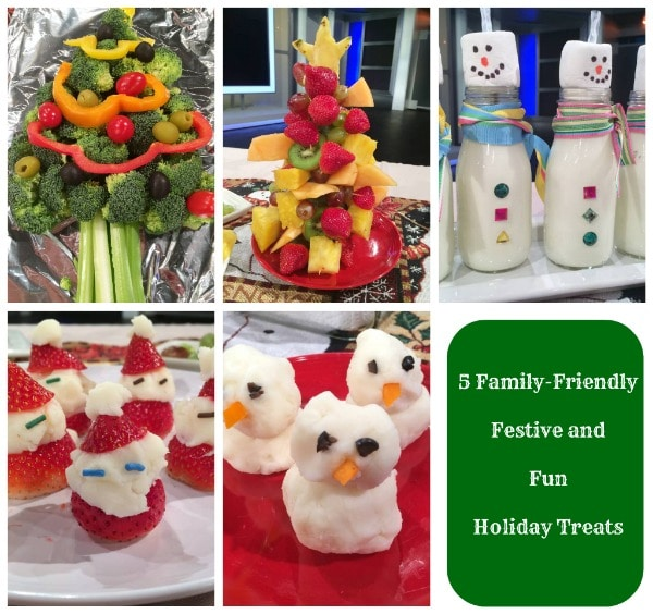 5 family friendly festive and fun holiday treats