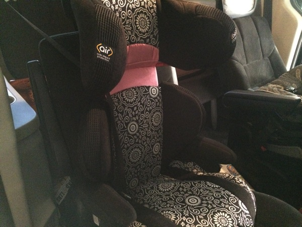 Safety 1st: Boost Air Protect® Booster Car Seat - Julianne