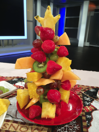 copycat edible arrangements christmas tree