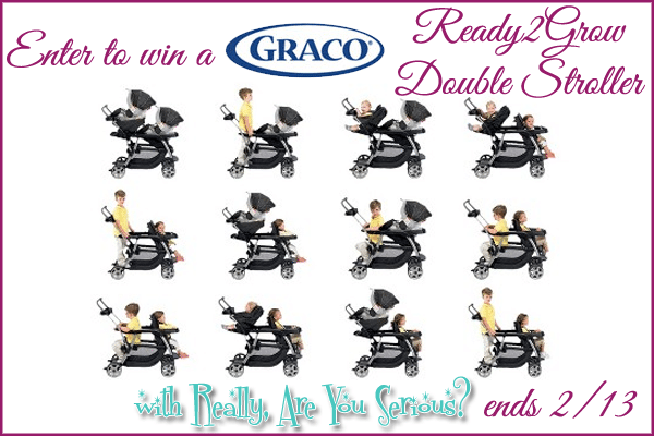 Graco Ready2Grow Giveaway