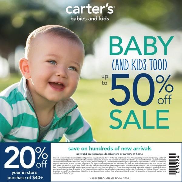 Carter s Spring Coupon