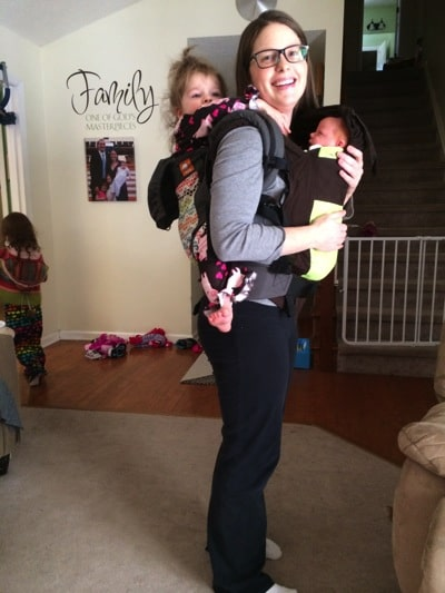 Tandem Baby Wearing