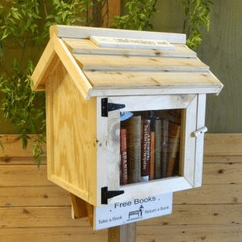 Little Free Library and Alpha-Bits