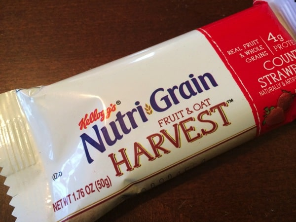 Nutrigrain Fruit & Oat Harvest Bar