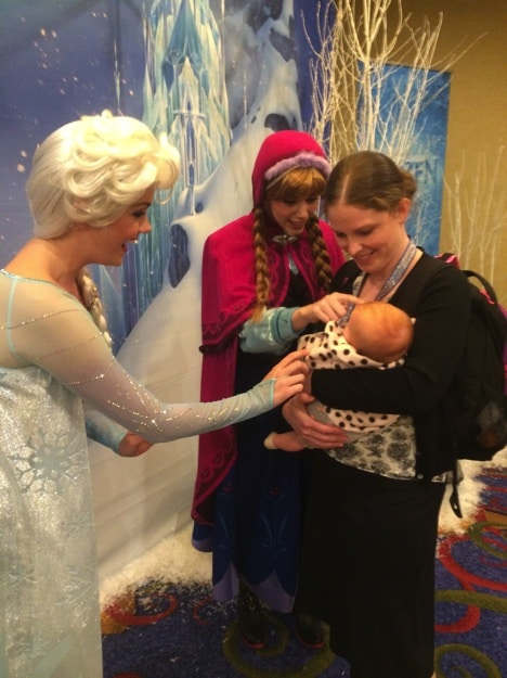That time B met Anna and Elsa